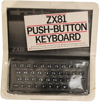 ZX81 Push-Button Keyboard