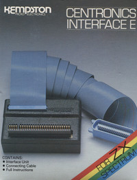 Kempston Centronics Interface for the ZX Spectrum