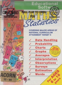 Maths Statistics For Ages 6 to 16 Years