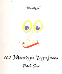 100 Monotype Typefaces Pack 1