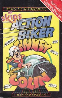 Action Biker with Clumsy Colin