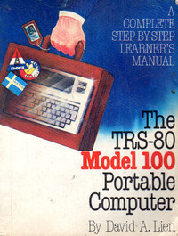 The TRS-80 Model 100 Portable Computer