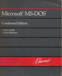 Microsoft MS-DOS Condensed Edition