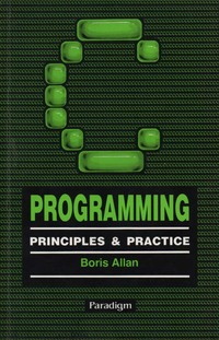 C. Programming: Principles and Practice