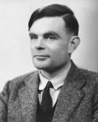 Alan Turing Defines the Universal Machine