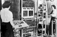 The Colossus Mark 1 computer is delivered to Bletchley Park