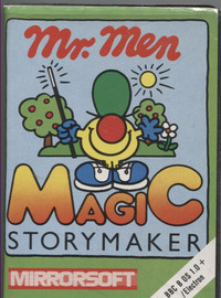 Mr Men Magic Story Maker (BBC B & Electron)