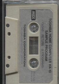 Toshiba Sample Program Tape