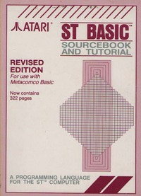 ST BASIC Sourcebook and Tutorial