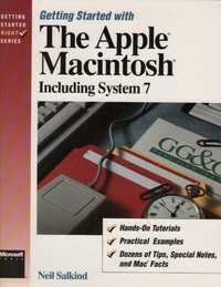 Getting Started with the Apple Macintosh, Including System 7