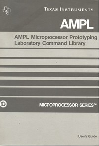 AMPL Model 990 Computer Product Documentation Package