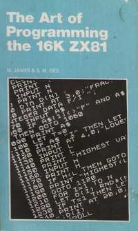 The Art of Programming the 16K ZX81