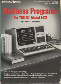 Business Programs for TRS-80 Model I/III