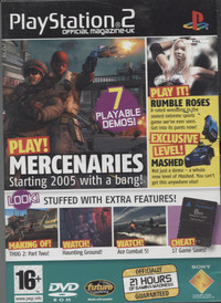 Playstation 2 Official Magazine UK Demo Disc 55 / January 2005