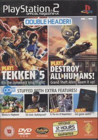 Playstation 2 Official Magazine UK Demo Disc 61 / July 2005