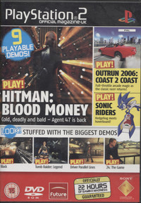 Playstation 2 Official Magazine UK Demo Disc 72 / May 2006