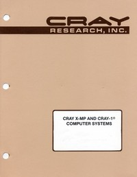 Cray X-MP & Cray-1 - MODSET Internal Reference Manual