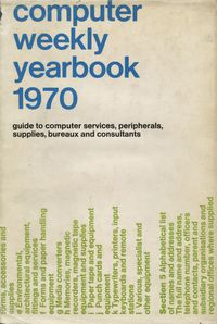 Computer Weekly Yearbook 1970