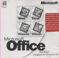 Microsoft Office for Windows 95 (Standard)