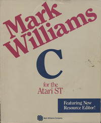 Mark Williams C for the Atari ST