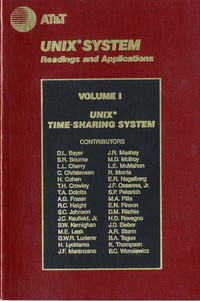 Unix System Readings and Applications, Volume I