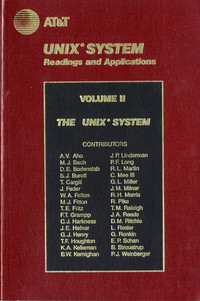 Unix System Readings and Applications, Volume II