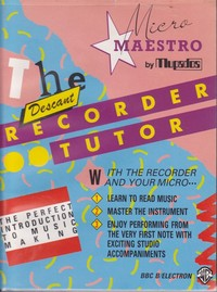 The Descant Recorder Tutor