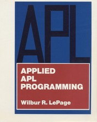 APPLIED APL PROGRAMMING