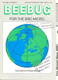 Beebug Newsletter - Volume 4, Number 8 - January / February 1986