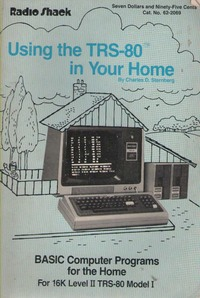 Using The TRS-80 In Your Home