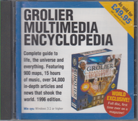 Grolier Multimedia Encyclopedia (PC Format)