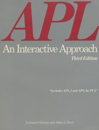 APL An Interactive Approach