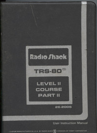 TRS-80 Level II Course Part II