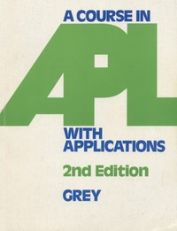 A Course in APL With Applications