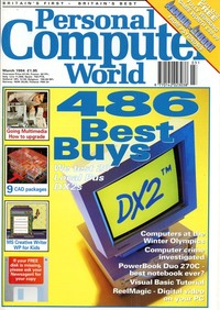 Personal Computer World - March 1994