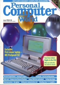 Personal Computer World - June 1990