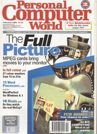Personal Computer World - February 1995
