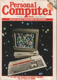 Personal Computer World - August 1987