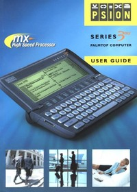 Psion Series 3mx User Guide