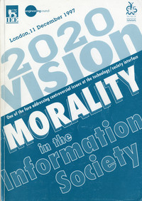 Morality in the Information Society