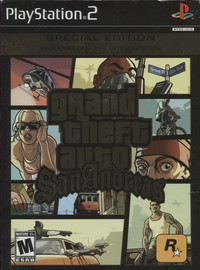 Grand Theft Auto San Andreas: Special Edition (NTSC)