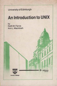 An Introduction to UNIX