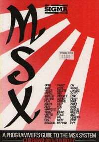 A Programmer's Guide to the MSX System
