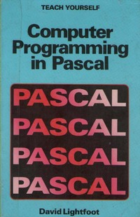 Computer Programming in Pascal