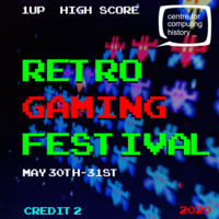Retro Gaming Festival 2020 - 30th & 31st May