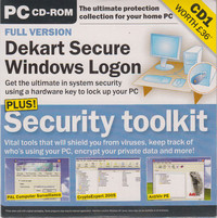 Microsoft Windows XP Official Magazine CD1 - Collection 5 - Security Toolkit