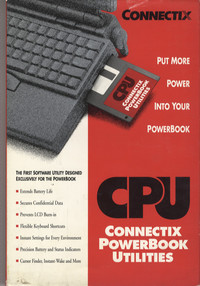 Connectix PowerBook Utilities