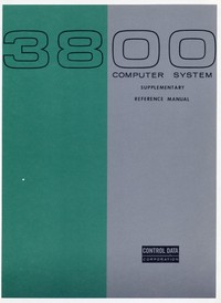 3800 Computer System