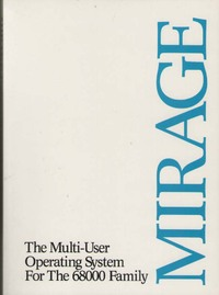 Mirage Operating System Users Reference Manual