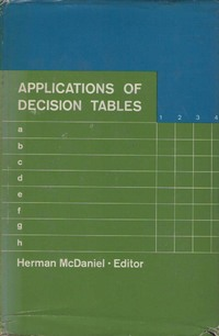Applications of decision tables - A Reader